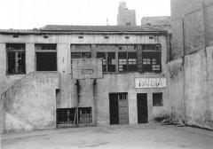 Antigues dependències de l'escola al Passatge Toledo, 12
